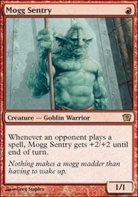 Mogg Sentry Magic Card