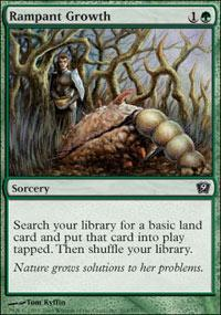 Rampant Growth Magic Card