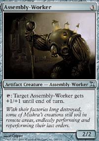 Assembly-Worker Magic Card