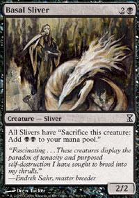 Basal Sliver Magic Card