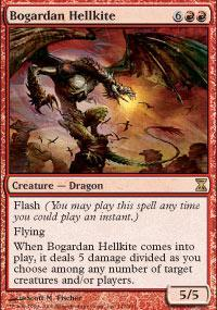 Bogardan Hellkite Magic Card