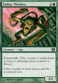 Zodiac Monkey Magic Card