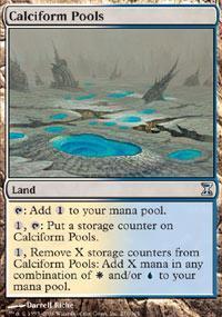 Calciform Pools Magic Card