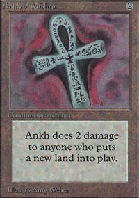 Ankh of Mishra Magic Card