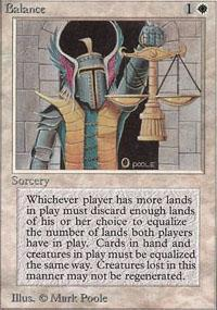 Balance Magic Card