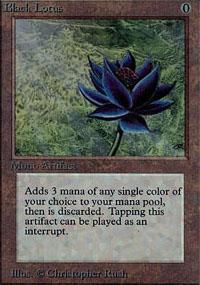 Black Lotus Magic Card