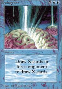 Braingeyser Magic Card