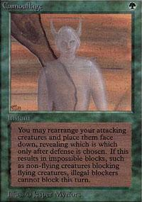 Camouflage Magic Card