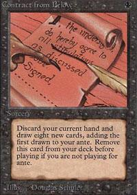 Contract from Below Magic Card