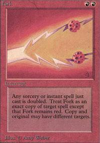 Fork Magic Card