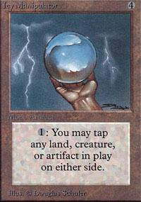 Icy Manipulator Magic Card