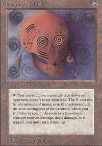 Illusionary Mask Magic Card