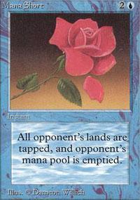 Mana Short Magic Card