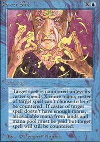 Power Sink Magic Card