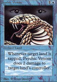 Psychic Venom Magic Card