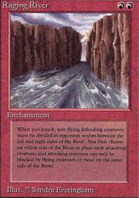 Raging River Magic Card