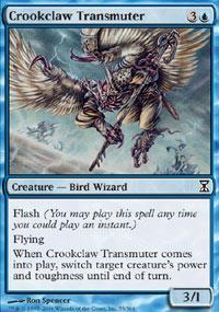 Crookclaw Transmuter Magic Card