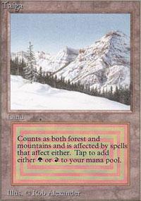 Taiga Magic Card