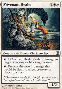 D'Avenant Healer Magic Card