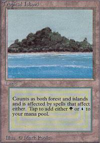 Tropical Island Magic Card