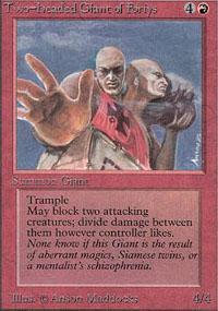 Two-Headed Giant of Foriys Magic Card