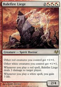 Balefire Liege Magic Card