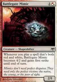 Battlegate Mimic Magic Card