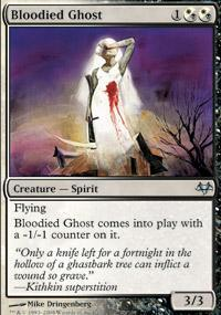 Bloodied Ghost Magic Card