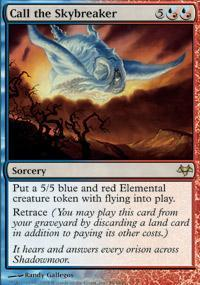 Call the Skybreaker Magic Card