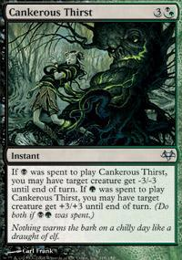 Cankerous Thirst Magic Card