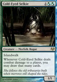 Cold-Eyed Selkie Magic Card