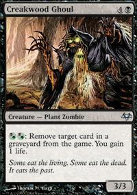 Creakwood Ghoul Magic Card