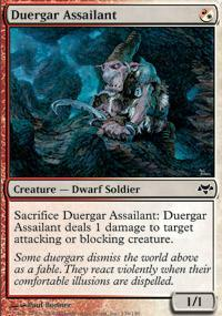 Duergar Assailant Magic Card