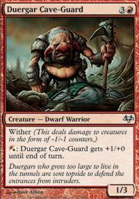 Duergar Cave-Guard Magic Card