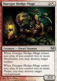Duergar Hedge-Mage Magic Card