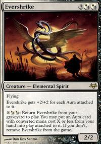 Evershrike Magic Card
