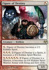 Figure of Destiny Magic Card