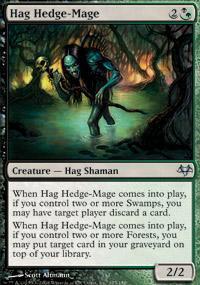 Hag Hedge-Mage Magic Card