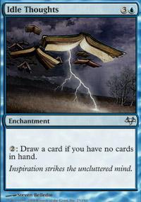 Idle Thoughts Magic Card
