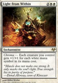 Light from Within Magic Card