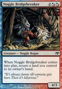 Noggle Bridgebreaker Magic Card
