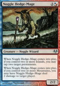 Noggle Hedge-Mage Magic Card