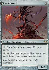 Scarecrone Magic Card