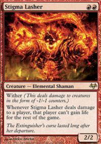 Stigma Lasher Magic Card