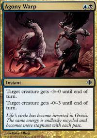 Agony Warp Magic Card