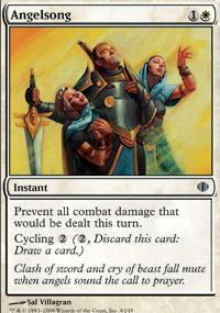 Angelsong Magic Card