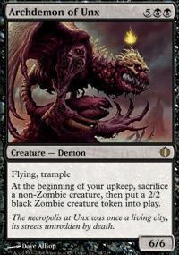 Archdemon of Unx Magic Card