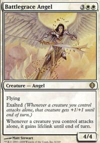 Battlegrace Angel Magic Card