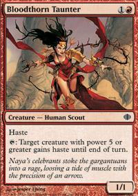 Bloodthorn Taunter Magic Card