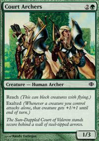 Court Archers Magic Card